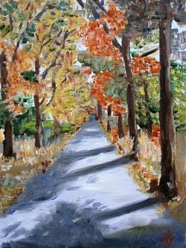 Forest path 18x24 cm niet te koop
