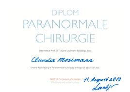 Diplom Paranormale Chirurgie