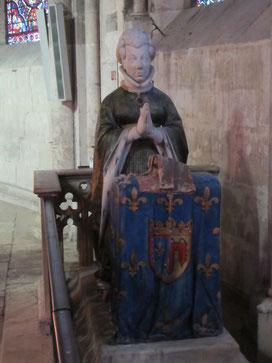 Jeanne de Boulogne - État actuel