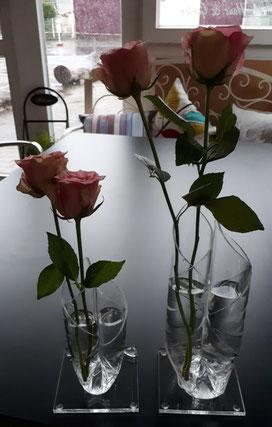 V-Vase Viola klein & groß