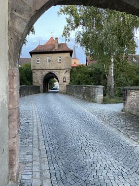 entrance gates of Iphofen