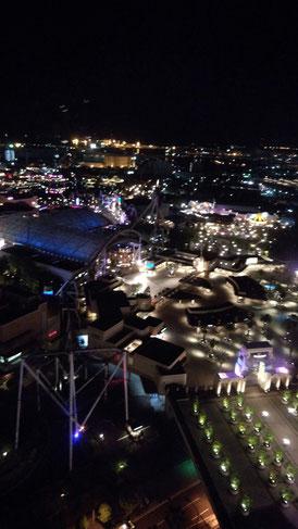USJの夜景の写真