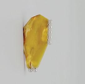 amber Florentine mosaic, amber, amber brooch, art, handiwork