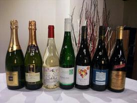 ワインパーティーイメージ(白ワイン)