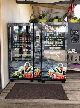 Neu auf dem Weilerhof: Der Verkaufsautomat für den Einkauf außerhalb von Ladenöffnungszeiten