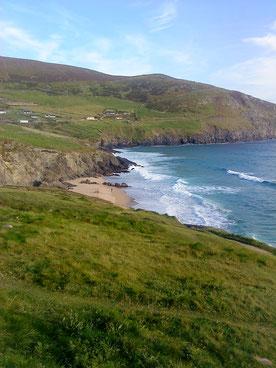 Aufnahme während unserer spirituellen Reise in Irland, Inch Retreat