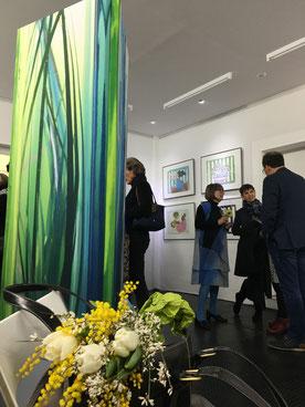 Ausstellung Treibhaus, Vernissage 25.1.2020 GEDOK Galerie , GEDOK Heidelberg