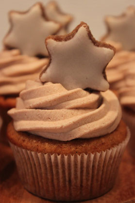 Zimt Cupcakes Muffins hinwil weihnacht