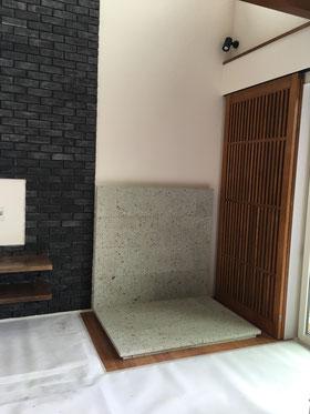 神奈川県の薪ストーブ炉台