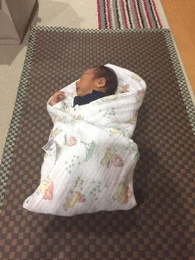 横浜市港南区の畳店 内藤畳店 畳の材料で作成したおむつ替えシート