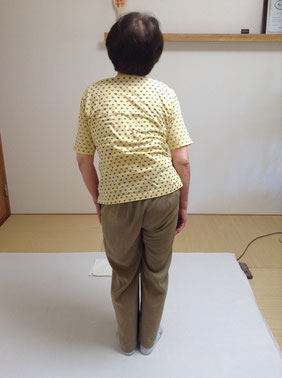 しんそう福井武生では、身体の歪みを手足のバランスから分析し、肩こり、腰痛、不妊などを解消していきます。