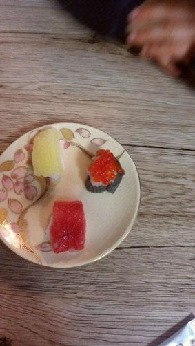 お寿司のお菓子の写真