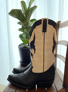 Cowboy Boots, Size 38.5, CHF 150