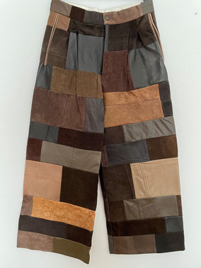RODEBJER Leather Pants, Size S, CHF 290