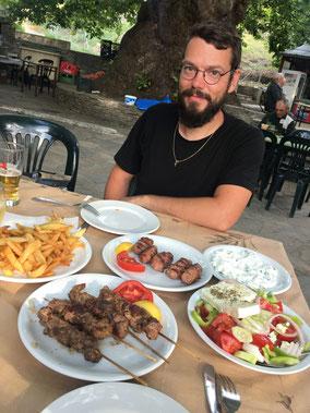 Leckeres griechisches Essen