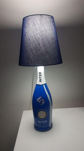 lampada bottiglia inter