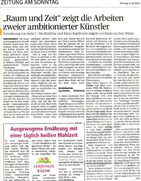 Zeitung am Sonntag, 05.07.2020
