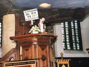 Bob Duynstee als dagvoorzitter