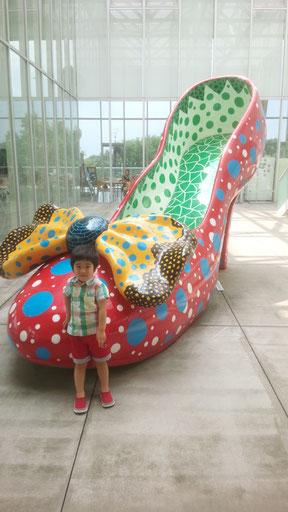 アート作品と子供