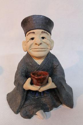 千利休の陶人形 その1
