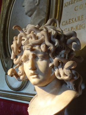 Bernini: Medusa - Kapitolinisches Museum,  Rom