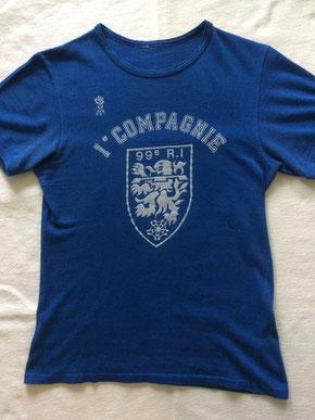 T-shirt EPS (ayant servi !) aux couleurs de la 1e Cie