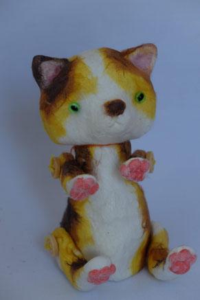 i-ppoたおか 田岡正臣 ねこ ネコ ゆるかわいい 三毛 肉球 人形