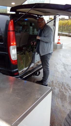 Tanken in Luxemburg Schengen