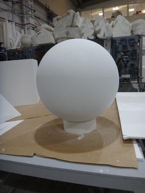 esfera acabado alisado