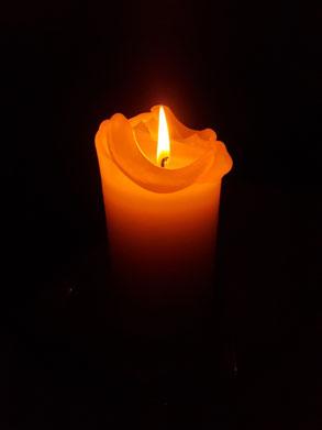 Sarah E. Kerze zum Gedenken