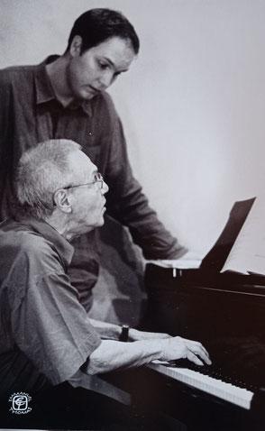 György Kurtág et Jonas Vitaud, Cordes-sur-Ciel 2007