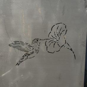 Colibri découpe laser