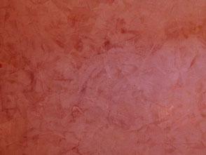 Beispiel: Stucco Veneziono rot