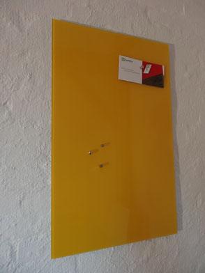 Glasmagnettafel Leuchtendes Gelb . 119,00 €