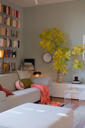 dieartige // Design Studio - Herbstmood im Wohnzimmer, #wildflowerpoetry_