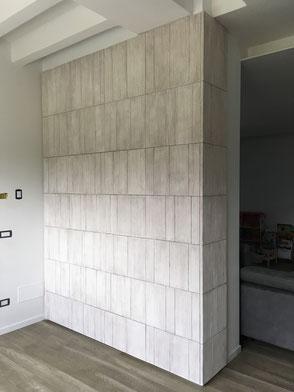 armadio su misura, armadio con ante decorate, armadio ingresso moderno
