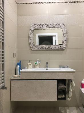 mobile lavabo su misura, mobile bagno classico