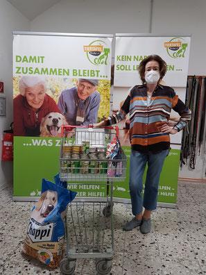 Futterpenden für die Tiertafel RheinErft