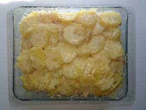 glutenfreier Blumenkohlauflauf mit Kartoffeln