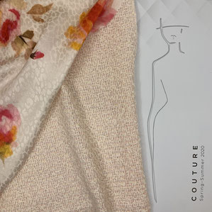 Carnet Couture Kollektionsbuch Frühling/Sommer 2019 · le coupon