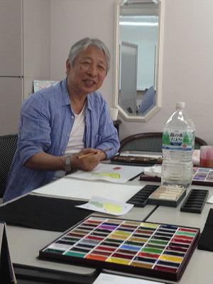 皆さん、佐々木先生のお人柄に魅せられて・・・・。人に対しての優しさに惹かれます(^^♪