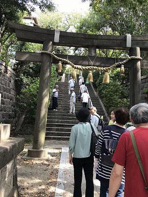 横浜一之宮神社へ