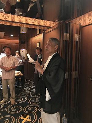 「文人画を描こう」教室の講師、佐々木彬文先生が高野山の競書にて「準特選」に書が選ばれました。おめでとうございます。