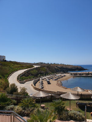 The Royal Blue Panormos  Strand