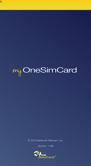 One Sim Card App