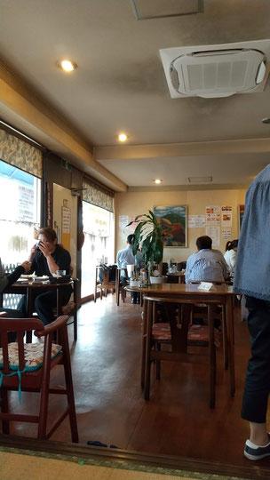 飲食店内の写真