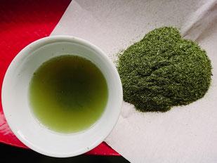 静香園の深蒸し茶粉茶