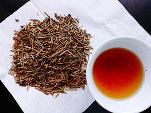 静香園の深蒸し茶ほうじ茶