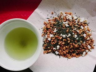 静香園の深蒸し茶玄米茶