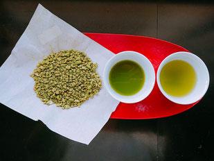静香園の深蒸し茶抹茶玄米茶